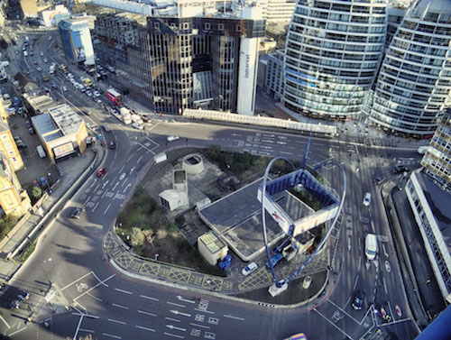Silicon Roundabout has long been the center of London's tech industry. (Image: Jack Torcello, Flickr)