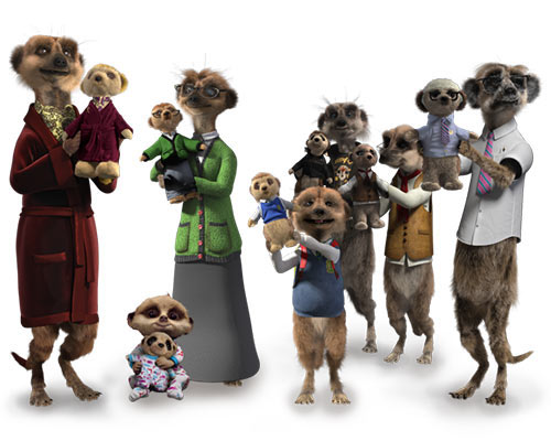The Meerkat Family
