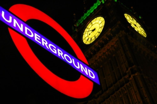 The London Underground is one place where data is being used to make real, effective decisions by Transport for London. (Image: Nick Fewings, Unsplash)