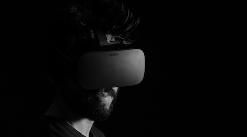 VR headsets such as the Oculus Rift (pictured) have been used by gaming up until now, but industry is starting to use the game-changing tech too. (Image: Lux Interaction, Unsplash)