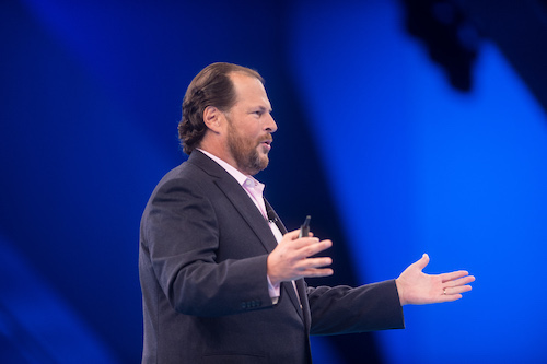 Salesforce CEO and founder Marc Benioff. (Image: Salesforce)