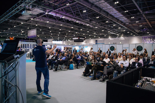 The Blockchain 360 presentations at TechXLR8 were well attended.