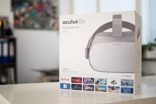 The Oculus Go is a standalone VR headset, which does not need a phone or computer to use. (Image: Marc Mueller, Unsplash)