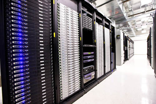 Server stacks such as these power some of the web's largest and most well-known platforms. (Image: Wikimedia)