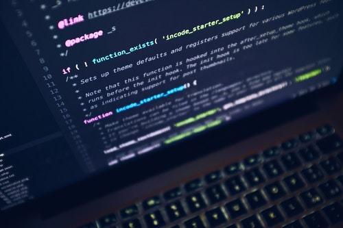 The servers, however, would be nothing without the code that runs on them. (Image: Luca Bravo, Unsplash)