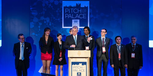The Duke of York speaking at a previous Pitch@Palace event. (Image: Pitch@Palace)