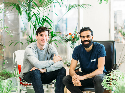 Bulb co-founders Hayden Wood and Amit Gudka. (Image: Bulb)