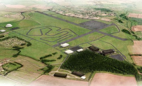 Dyson's test track will stretch for more than ten miles, proving plenty of different conditions that can put the electric vehicles through their paces. (Image: Dyson)