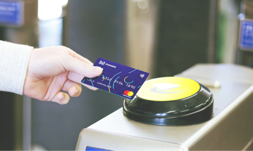 Monese's contactless debit card can be used wherever the Mastercard logo is present. (Image: Monese)