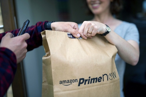 Delivery services such as Amazon Prime have revolutionized the on-demand industry, preying on our impatience to get what we want. (Image: Amazon)