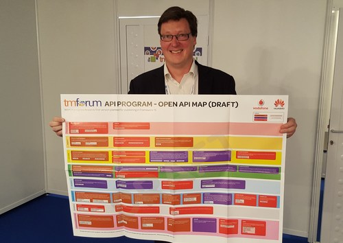 Telco Transformation's Iain Morris gets his hands on the Open APIs map -- quite literally!