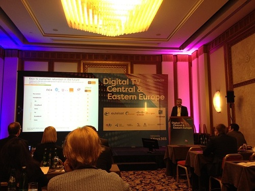 Dariusz Dzialkowski discusses OTT and pay-TV at the Digital CEE event in Budapest