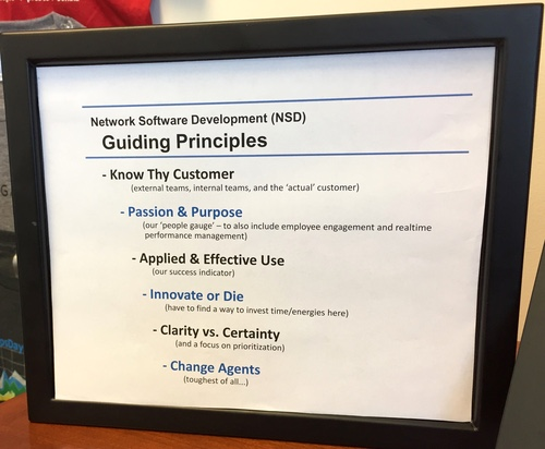Level 3's Travis Ewert says the last item on this list is the hardest to implement.