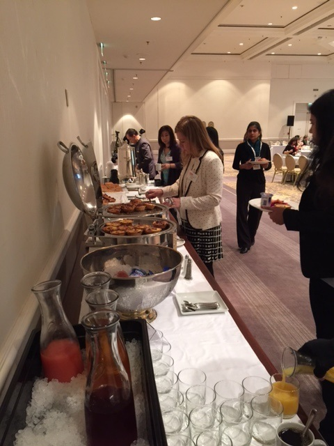 Ahead of the event, Light Reading hosted it's third Women in Telecom Breakfast. Mini-quiches, fruit, yogurt and croissants fueled the audience's lively discussion around The New IP.