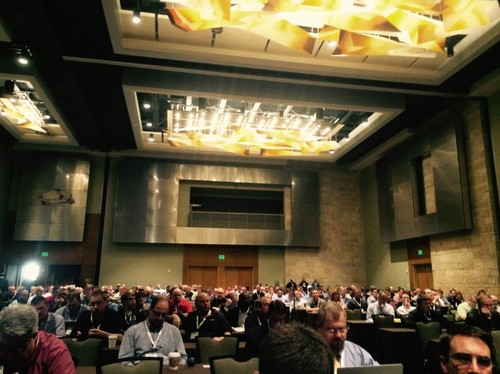 Nearly 500 attendees from across the rural telco system packed the house for the opening sessions.