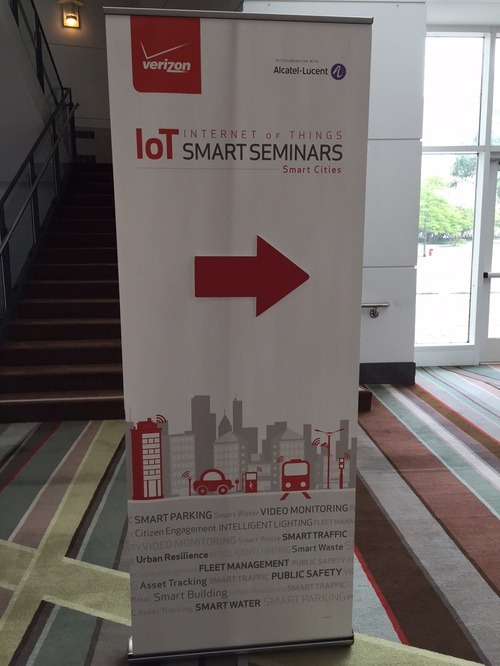 Verizon's IoT Smart Cities Seminar covered all the key smart city benefits, from smart parking to public safety and more.
