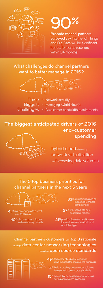 (Source: Brocade annual channel survey)