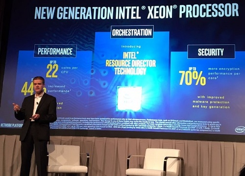 Intel's John Healy discusses Intel's role in New IP technologies during Oracle Industry Connect in Orlando last month.