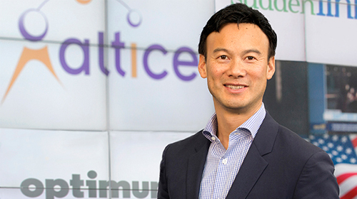 Dexter Goei, Altice USA's chairman and CEO, who will lead the fiber rollout strategy.