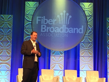 Verizon rediscovers its love affair with fiber, said Kyle Malady, senior vice president and chief network officer at Verizon Wireline during Fiber Connect 2017 in Orlando on June 13.