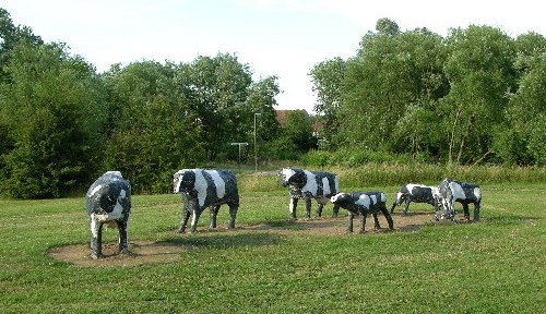 Milton Keynes -- renowned for its concrete cows and, apparently, udderly terrible broadband.