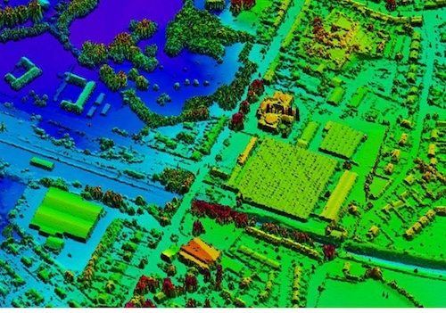 Bluesky mapped Great Britain using LiDAR. (Photo source: Bluesky)
