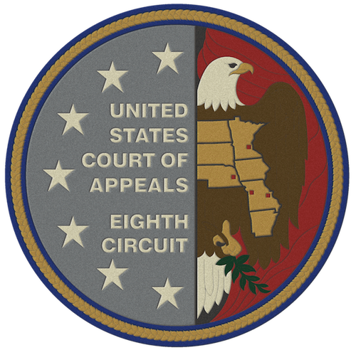 (Source: US State Court of Appeals,  Eighth Circuit via Wikimedia.