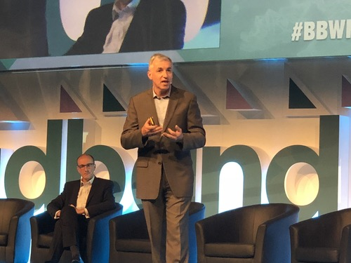 Regardless of how operators connect subscribers to broadband, NBN's latest 'Connecting Australia' report shows the financial, social and educational benefits access delivers, said JB Rousselot, chief Network & Operations officer at NBN, during a Broadband World Forum keynote today. (Photo: Niall Hunt)