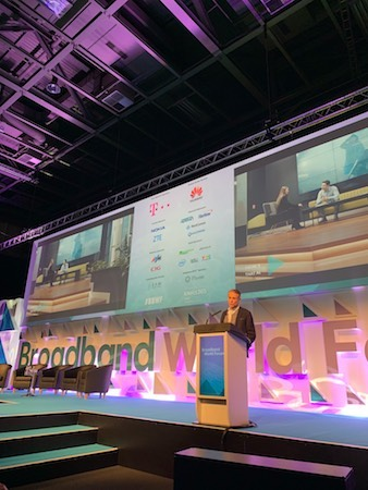 Turkey should aim to reach at least 70% broadband penetration from today's 50%+, noted Turk Telecom CEO Paul Doany in an interview following his keynote at Broadband World Forum. (Photo: Amy Turner)