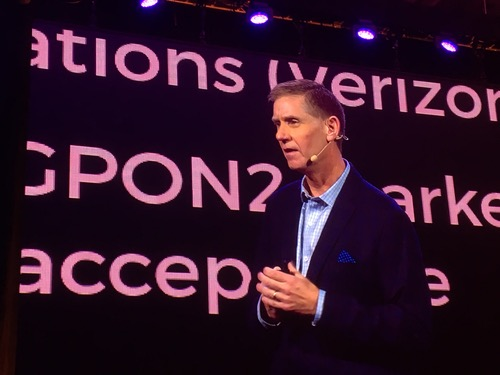 Lee Hicks, vice president of network services at Verizon, shares news about the provider's completion of a production NG-PON2 network, using Calix technologies.