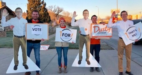 Doug Johnson is trading in rural South Dakota for Washington, DC, after winning this year's mid-term election.