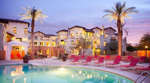 While vacationing at Choice Hotel properties such as the Cibola Vista Resort and Spa in Peoria, Ariz., guests can choose to stay connected via Comcast Business's high-speed infrastructure under a four-year deal recently signed between the two organizations. (Photo Source: Choice Hotels)