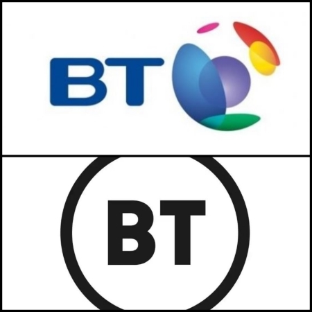 BT this week trademarked a potential new logo -- a simple black and white circle that does away with the colorful branding of the past. Responses from graphics professionals to social media wags have not all been kind.