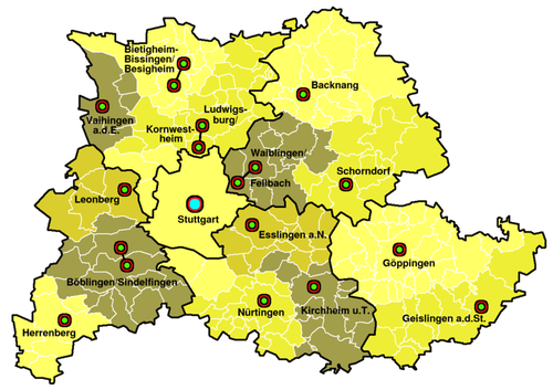 The Gigabit Region Stuttgart gigabit project, in partnership with Deutsche Telekom, will impact 174 municipalities, 140,000 businesses and almost 3 million people. (Photo source: Wikimedia)