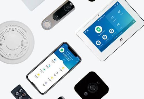 ADT's line of security products include connected, IoT devices like smart smoke detectors, video security systems and flood sensors. (Source: ADT)