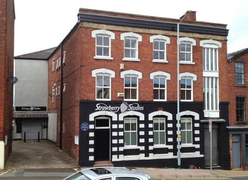 You can find many historic buildings throughout the villages, towns and cities of Greater Manchester, including Stockport's Strawberry Studios. Many punk icons (and some pop stars, all right) recorded here, from Buzzcocks and Joy Division to OMD and (definite non-punkers) Bay City Rollers. (Photo Source: Robin Stott; Wikipedia)