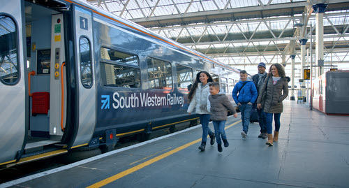 Blu Wireless and FirstGroup's Rail Division are developing gigabit connections for very high connectivity and data-transfer rates for travelers to use while on fast-moving trains. (Image source: FirstGroup)