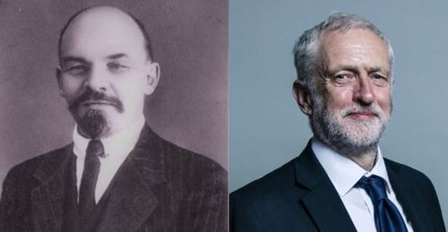 Nationalizing industries and eliminating many private companies was communist Vladimir Lenin's philosophy and is something Labour Party leader Jeremy Corbyn (right) now advocates for broadband.