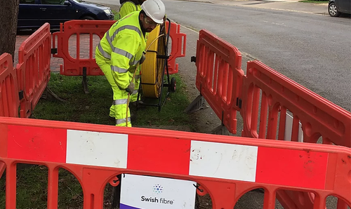 The Swish team is already prepping for its network rollout starting in 2020. (Pic: Swish Fibre Ltd.)