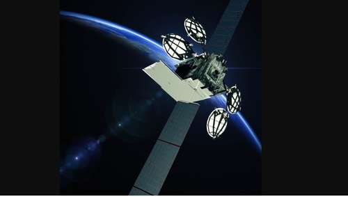 Capacity aboard the ViaSat-2 satellite (artist rendering shown here) has enabled the company to deliver faster speed tiers.  