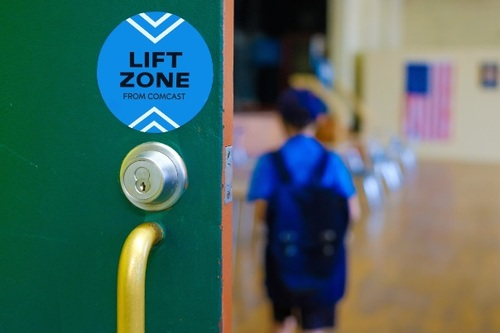 Comcast said it will deploy 1,000-plus Wi-Fi 'Lift Zones' to hundreds of community centers around the country.  