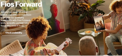 Fios Forward is now available to new and existing Verizon customers who qualify for the low-cost broadband service.  