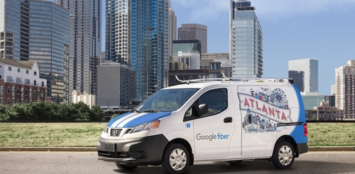 Atlanta is part of the early batch of Google Fiber markets to get the new 2-Gig product.   (Source: Google Fiber)