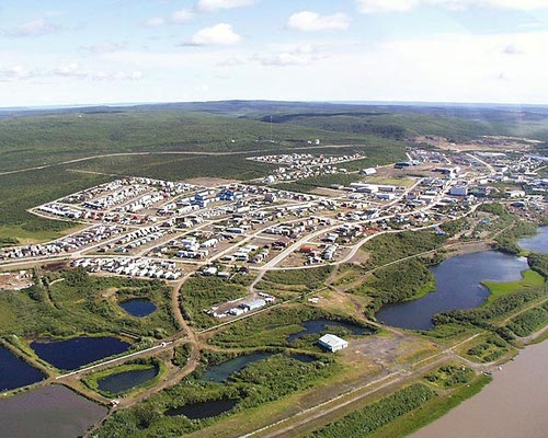 The Canadian government's growing investment in IoT in areas such as Inuvik creates an opportunity for CSPs like Iristel and sister firm ICE, which are leveraging virtualization to create scalable, flexible and reliable networks across Northern Canada. (Source: YukonInfo.com)  (Home page art source: Dawsonesque at English Wikipedia, CC BY-SA 3.0)